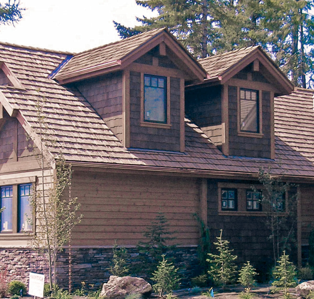 Log Cabin Roof Shingles