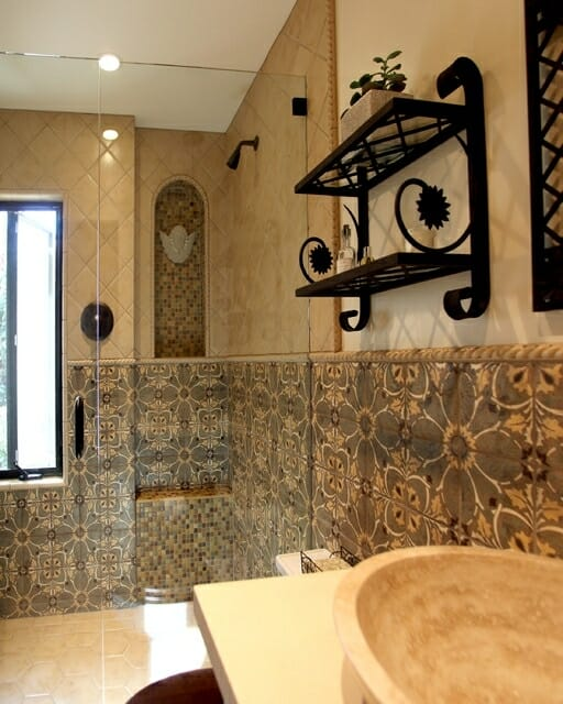 Decorative Tile Bathroom