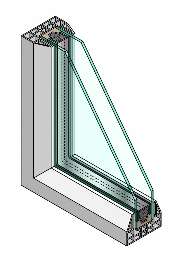 Double pane windows compare free quotes save modernize for Double glazed window glass