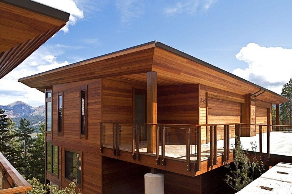 Engineered wood house - Image Source