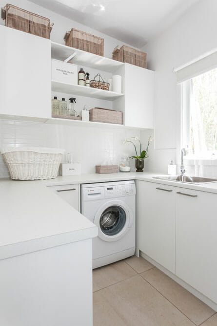 How To Make Laundry Room Look Bigger