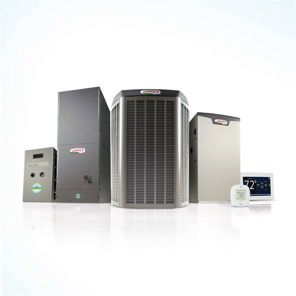 5 different types of lennox hvac systems.