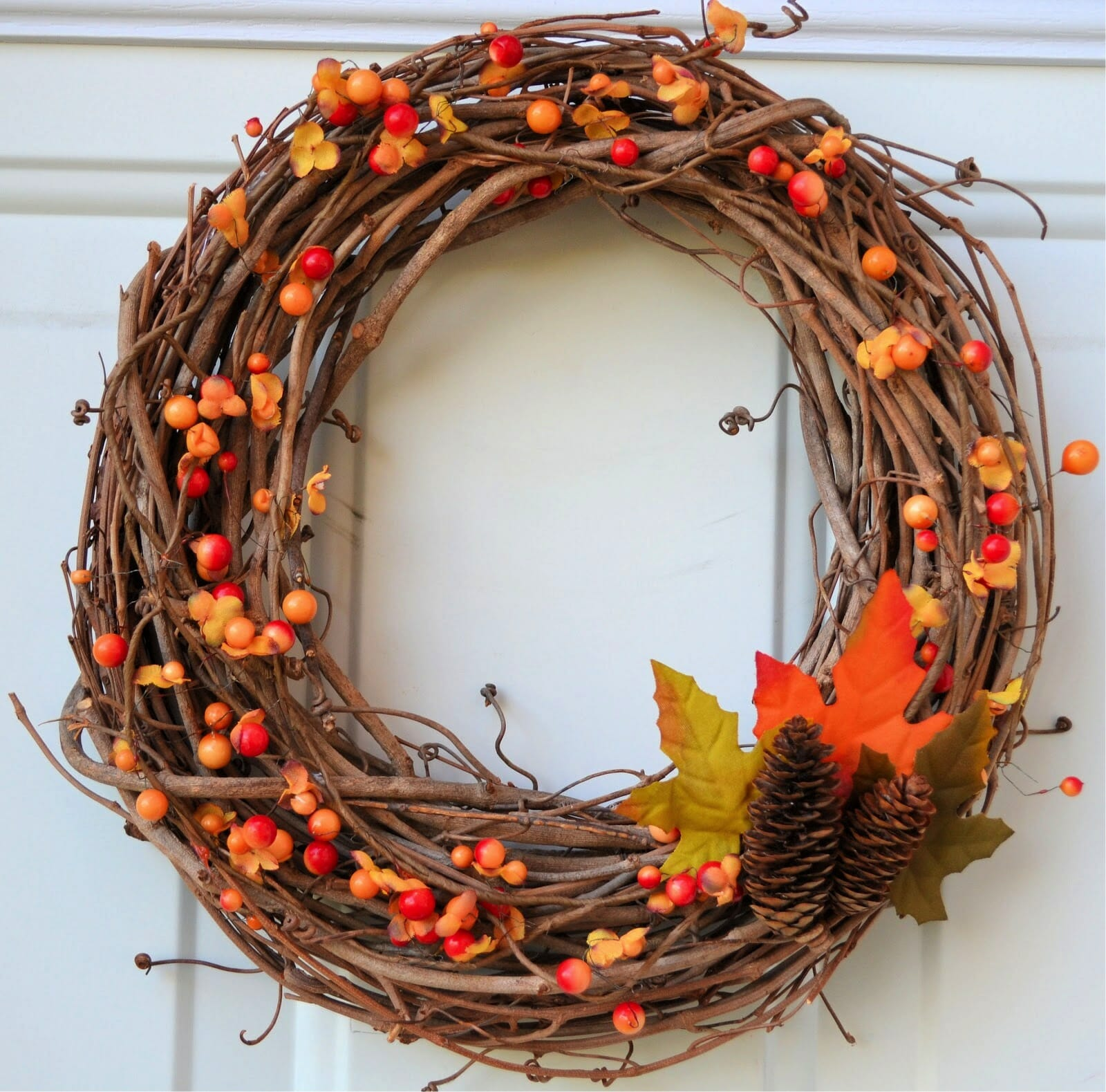 october wreath