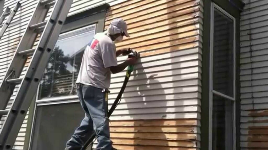 Painting wood siding - Image Source