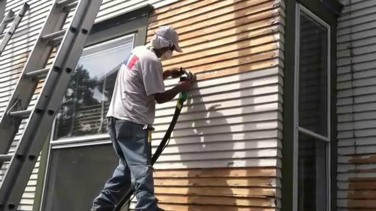 How to treat wood siding modernize for How long for exterior paint to cure