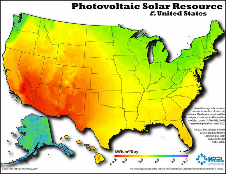 photovoltaic solar resources