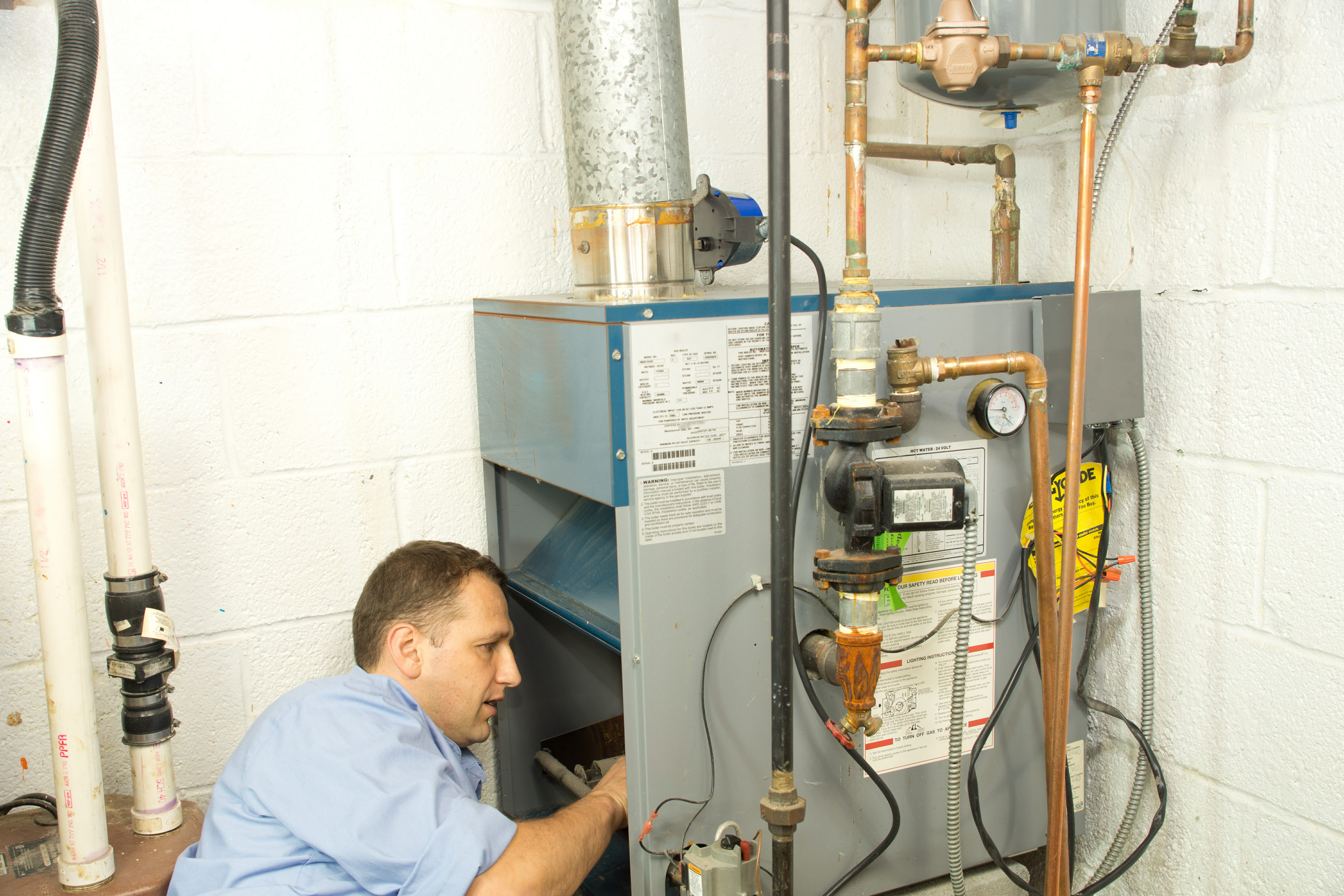 Six Warning Signs That Your Furnace May Be Failing Modernize A Typical Wiring Schematic For Gas