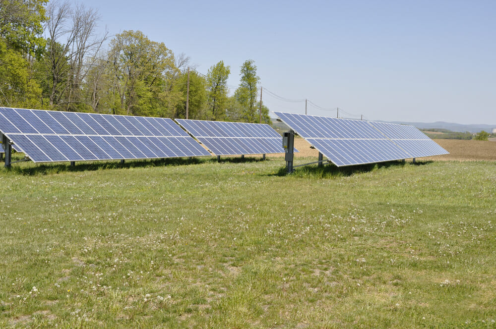 solar ground mounts