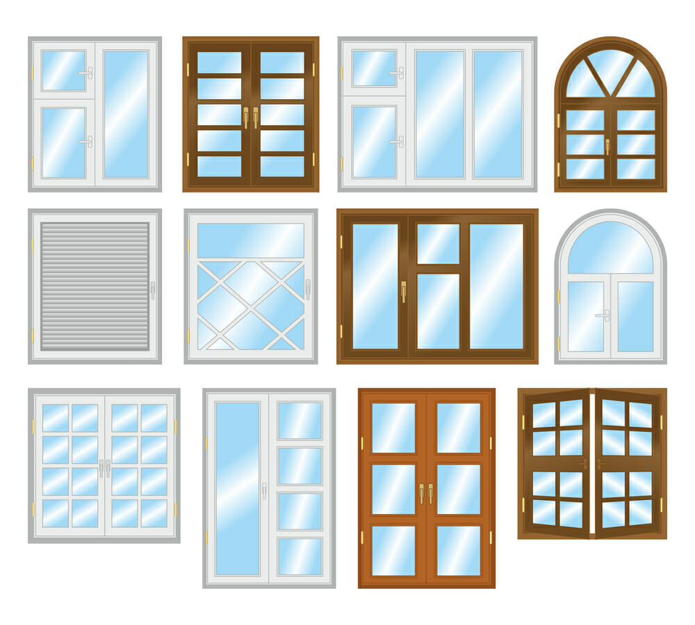 Types of windows for Window types names