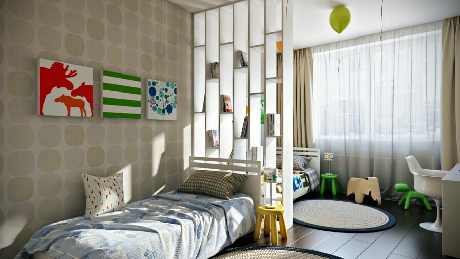 7 Inspiring Kid Room Color Options For Your Little Ones: 5 Tips For Making A Shared Bedroom Work For Your Children