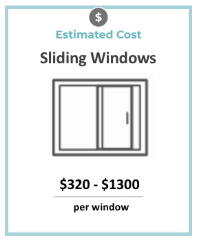 sliding windows cost