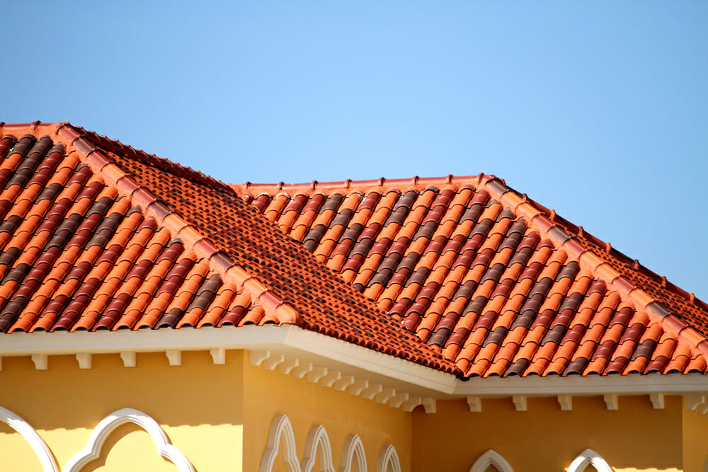 Clay roofing tiles shingles costs of installation for Spanish clay tile roof