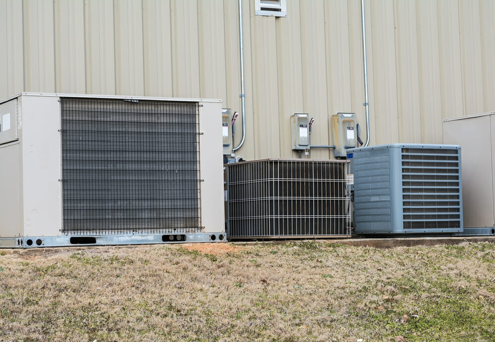 3 different types of hvac units.