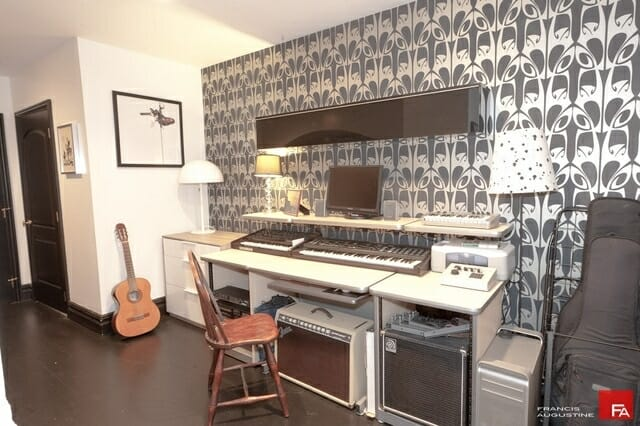 A cave for the modern man 9 sophisticated ideas modernize Home music studio room design ideas