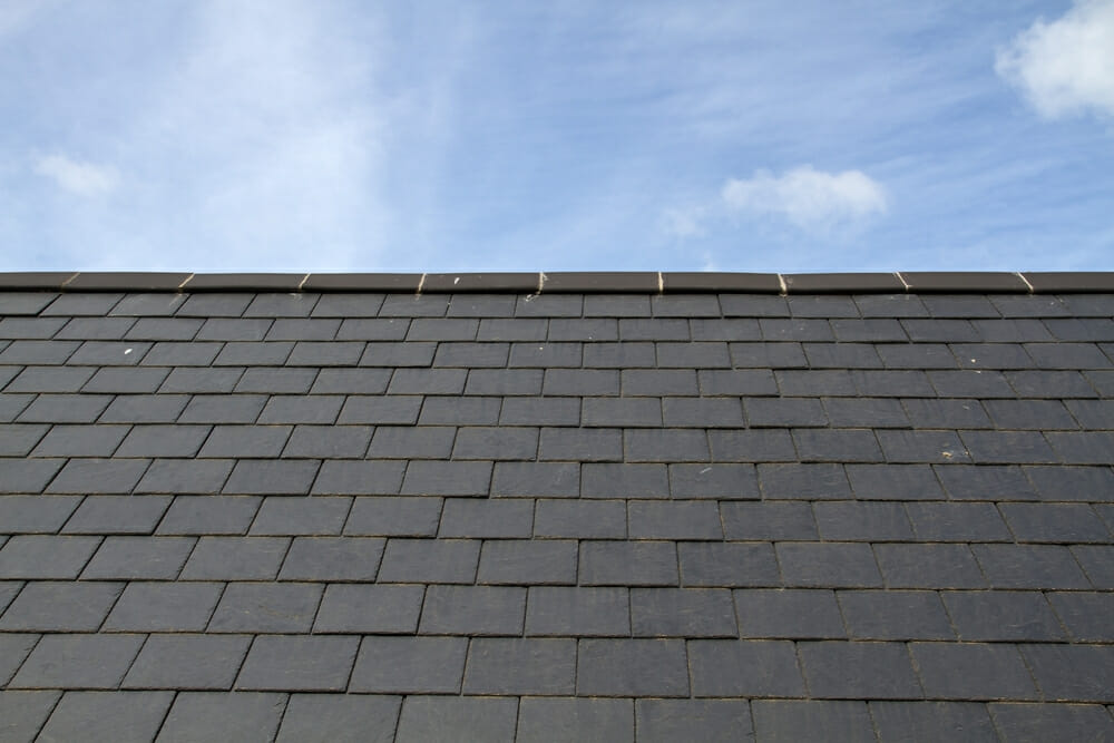 Slate roof tiles shingles find costs roofing for Fiber cement composite roofing slate style