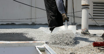Tar and Gravel Roofing