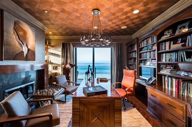 Man Cave Study Room : A cave for the modern man sophisticated ideas modernize
