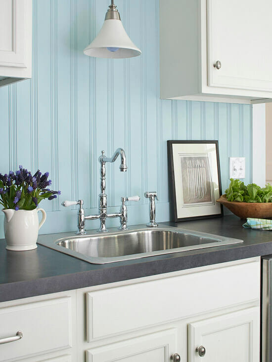 Kitchen Backsplash Beadboard beadboard backsplashes - modernize