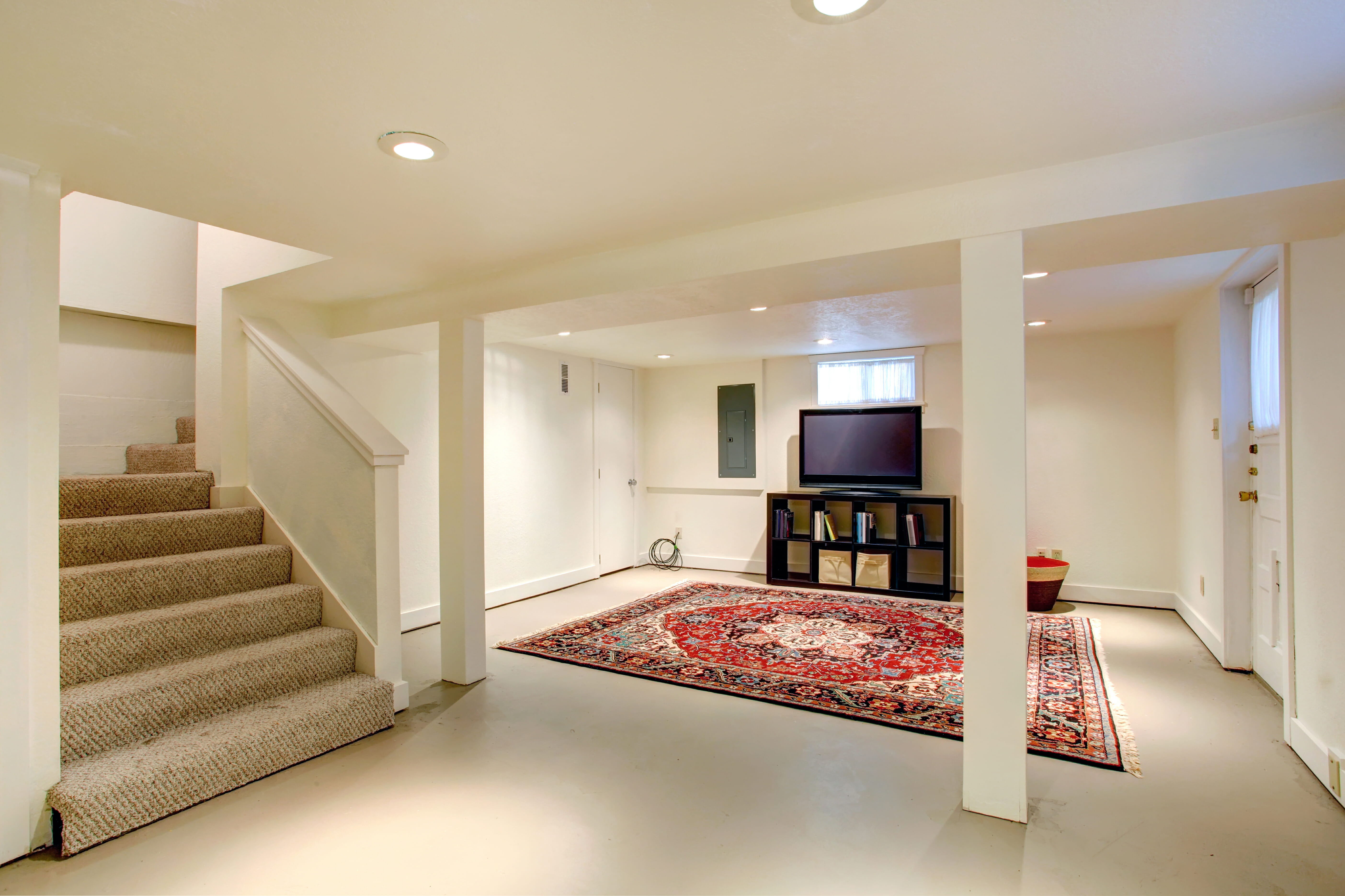 4 easy diy ways to finish your basement stairs modernize for Best way to build a basement