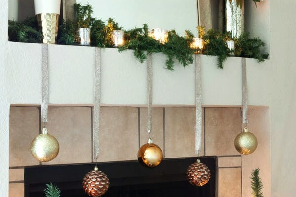 Christmas Mantel Ornaments