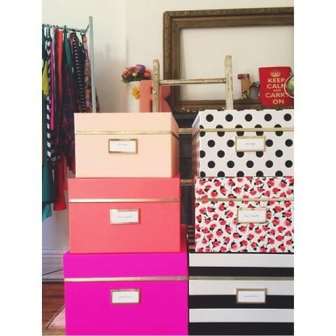 Kate Spade nest boxes
