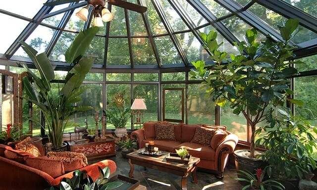 Sunrooms sunroom ideas pictures design ideas and decor for Sunroom garden room