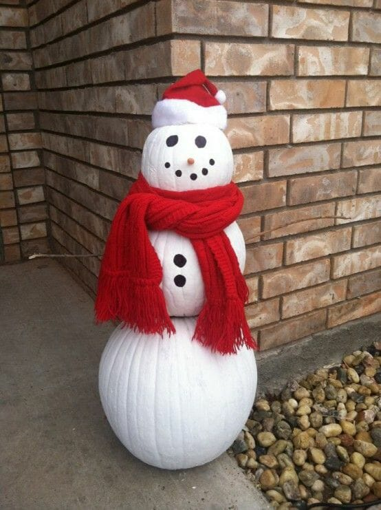 Make a Snowman Out of Things Other than Snow