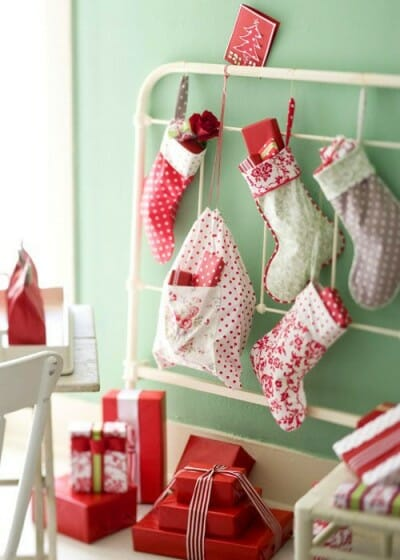 Creative Ways To Hang Your Christmas Stockings