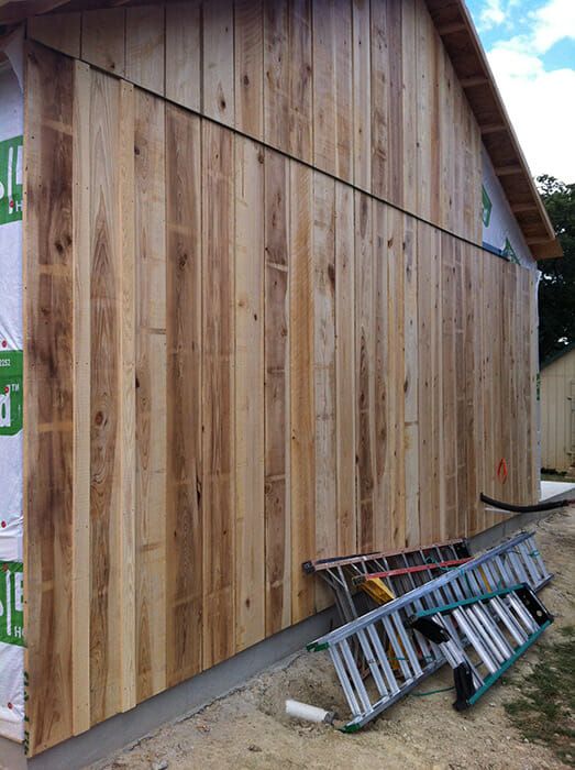 Wood Board And Batten ~ Wood siding installing board and batten