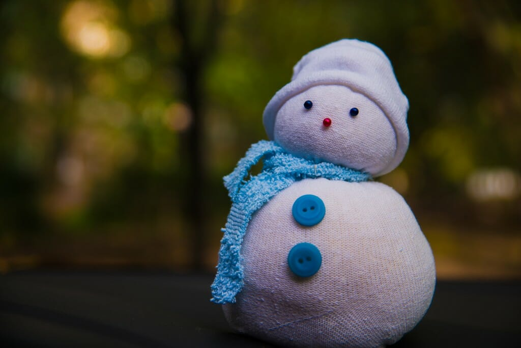 Make A Snowman Out Of Things Other Than Snow Modernize