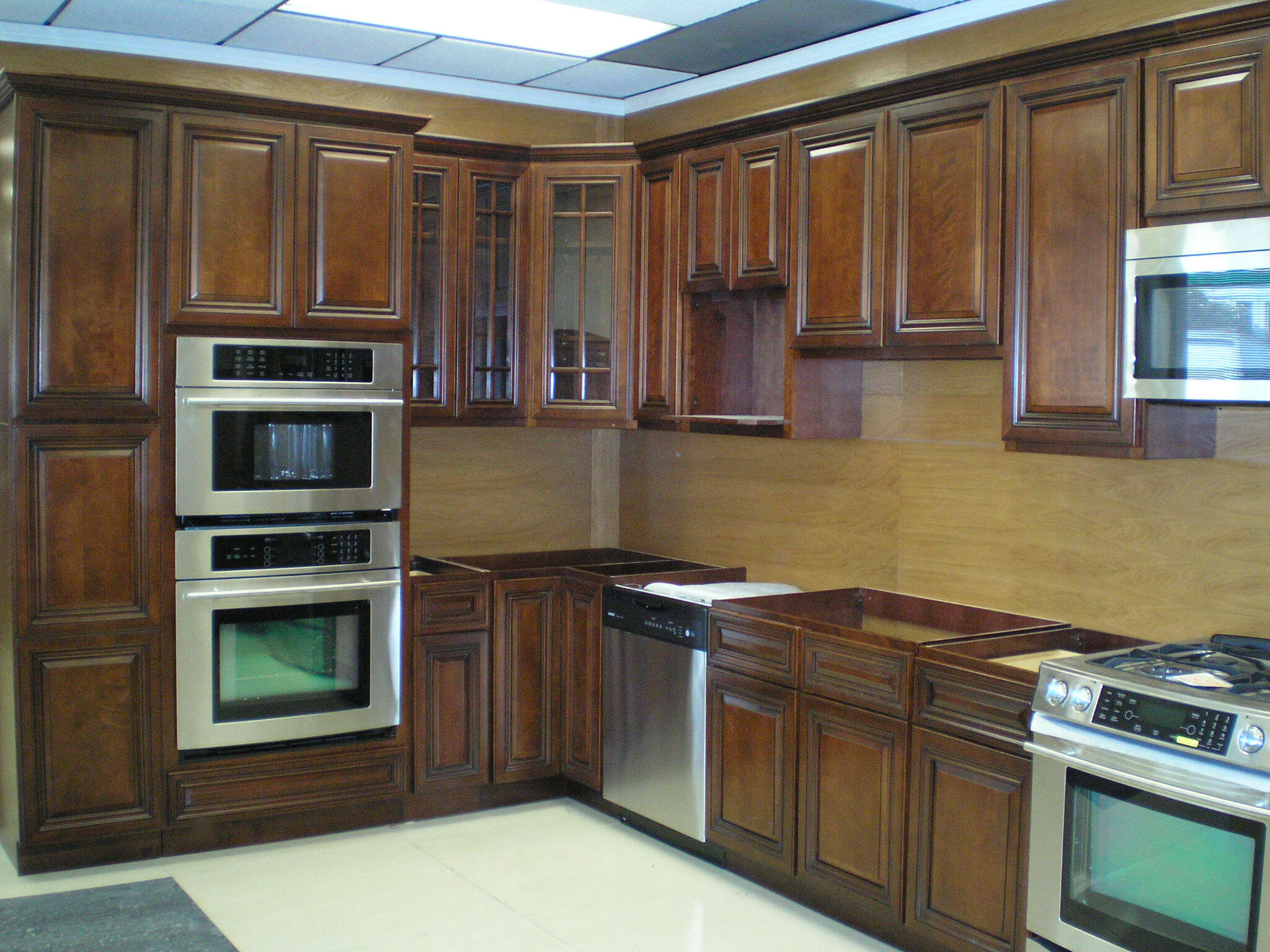 Real Wood Kitchen Doors Walnut Kitchen Cabinets Modernize