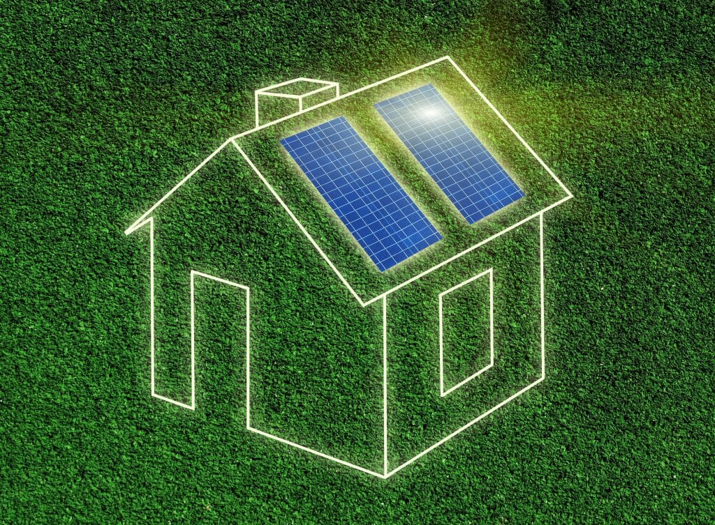 Green Solar Graphic