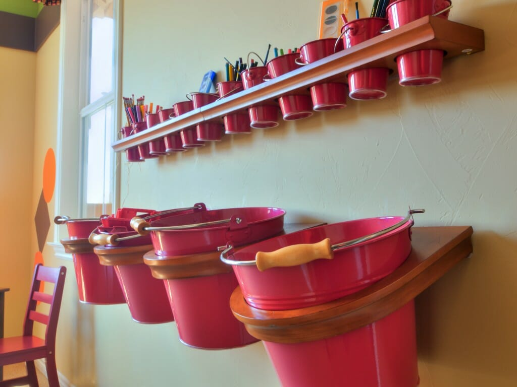 Kid Playroom Storage