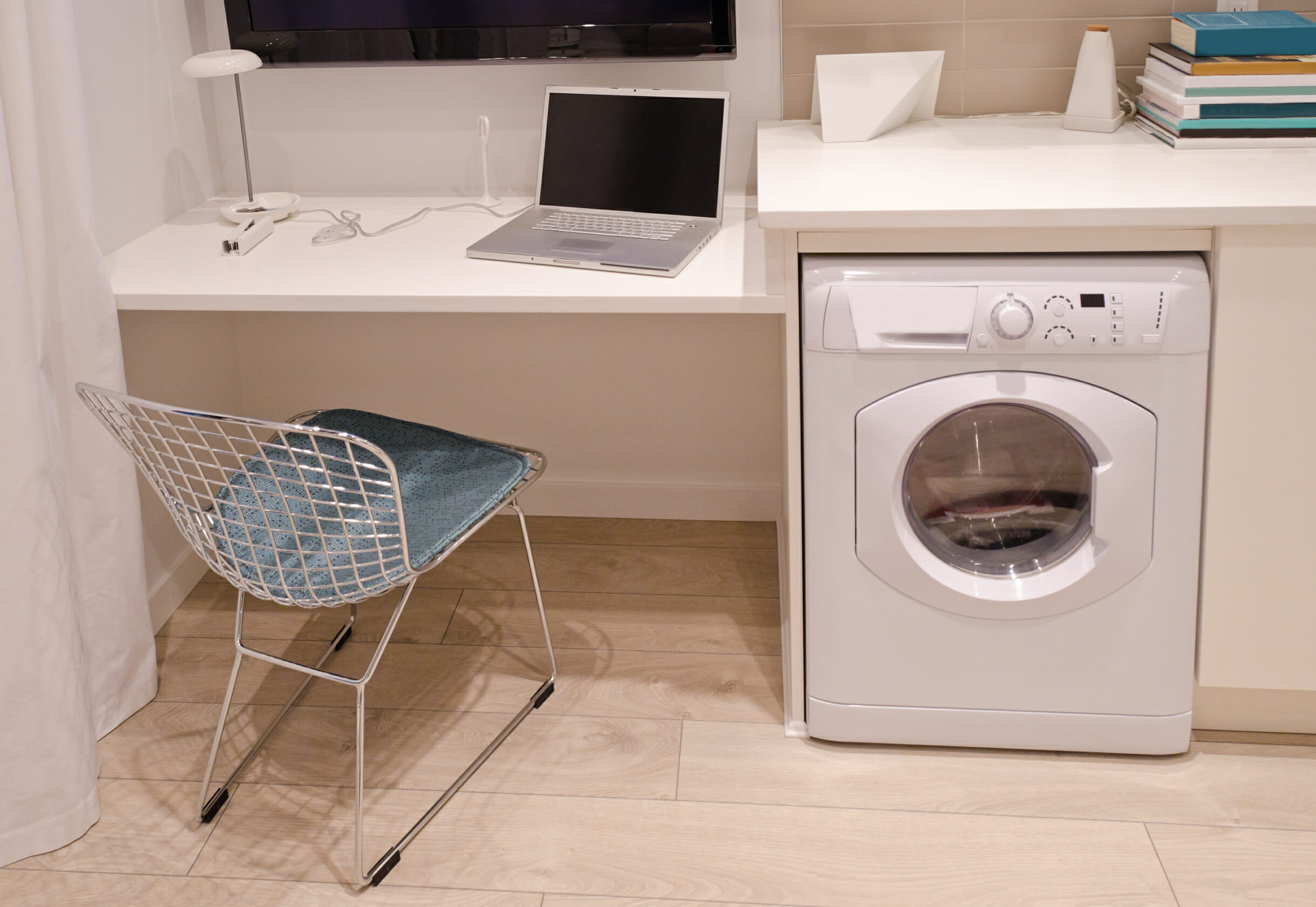 Laundry room office