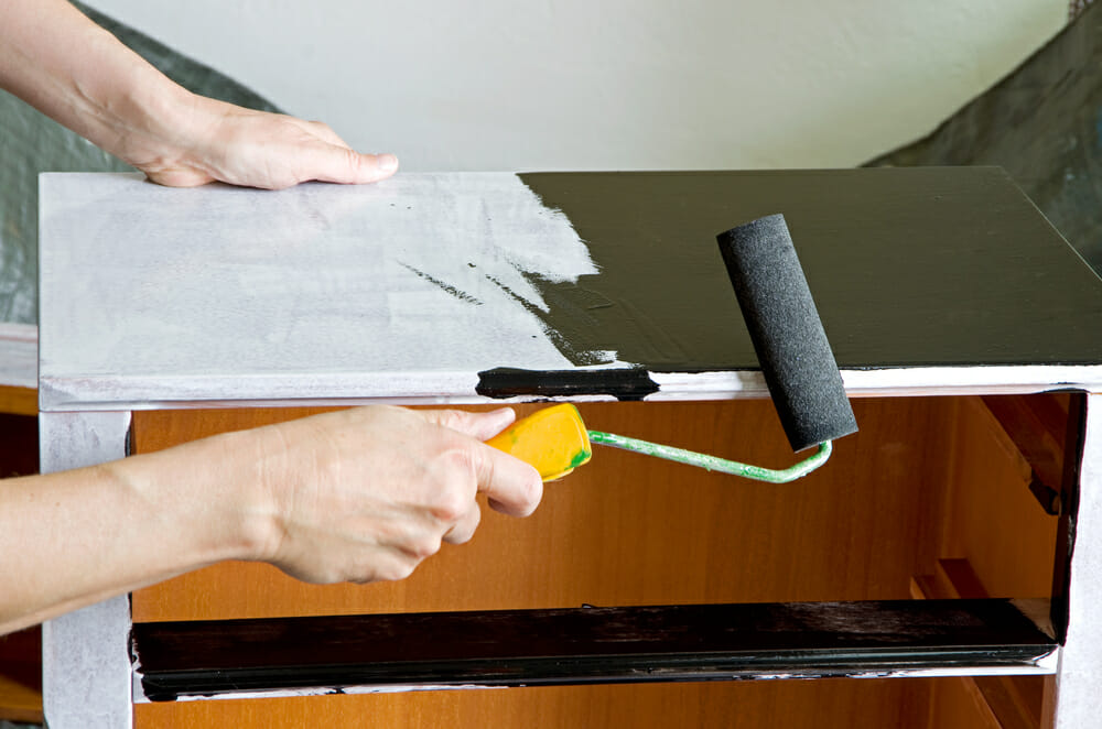 Priming Furniture for paint