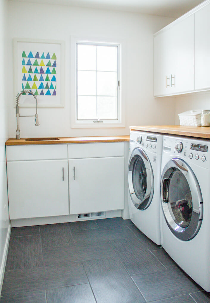7 things to consider before a laundry room renovation - modernize a Laundry Room