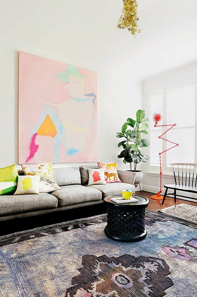 Oversized Art and 5 other ways to decorate a big wall
