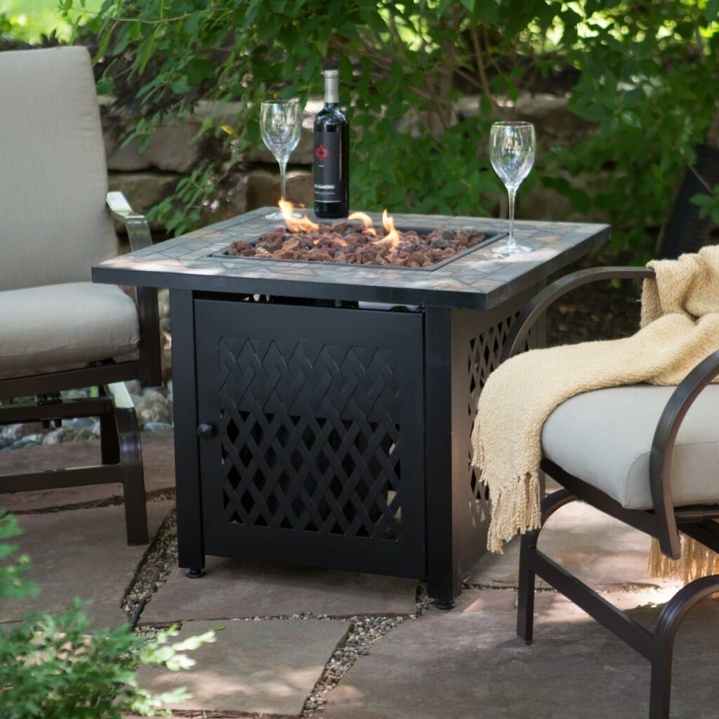 Dress Up Your Deck With A Diy Gas Fire Pit Modernize