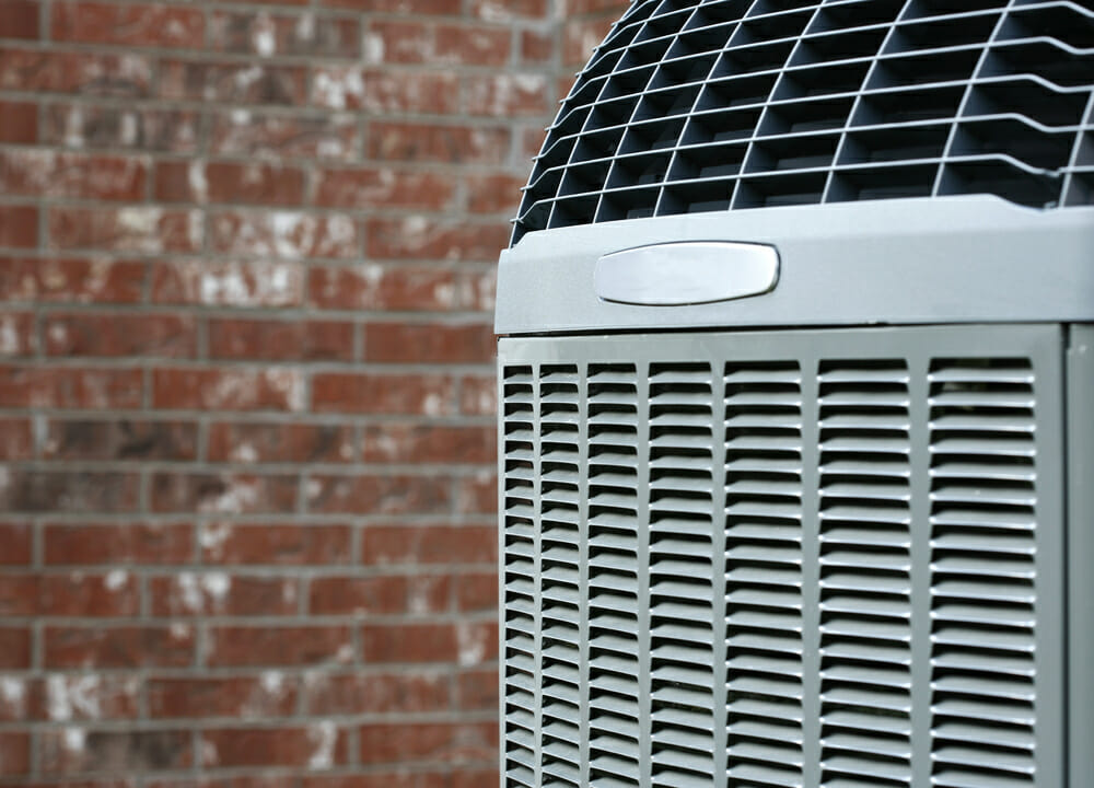 Closeup of AC Unit