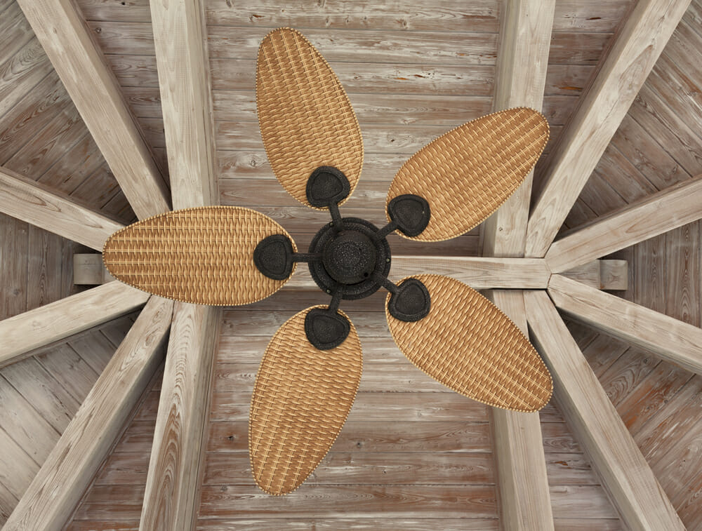 Eco-friendly ceiling fan