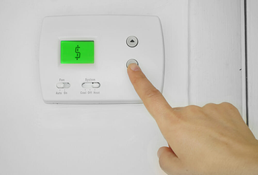 Energy Efficient AC Unit Thermostat