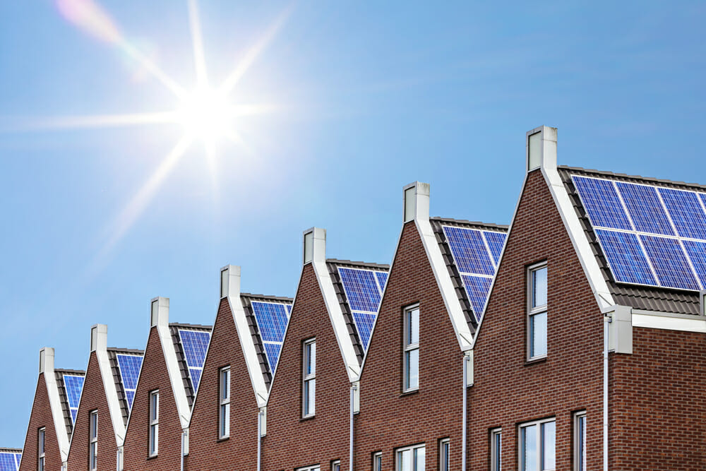 New homes built with solar