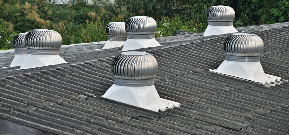 Roof air vents
