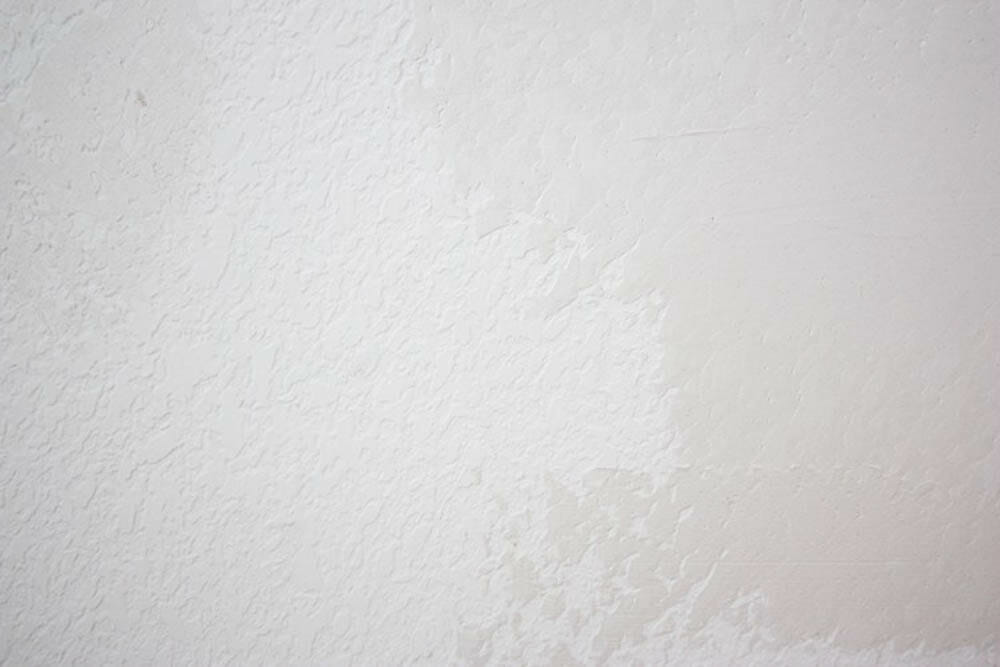 Add Texture To Walls : How to smooth textured walls with a skim coat diy