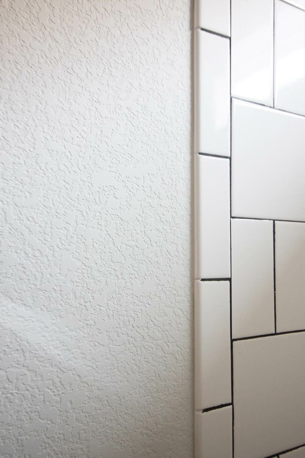 Bathroom Wall Texture how to smooth textured walls with a skim coat - modernize