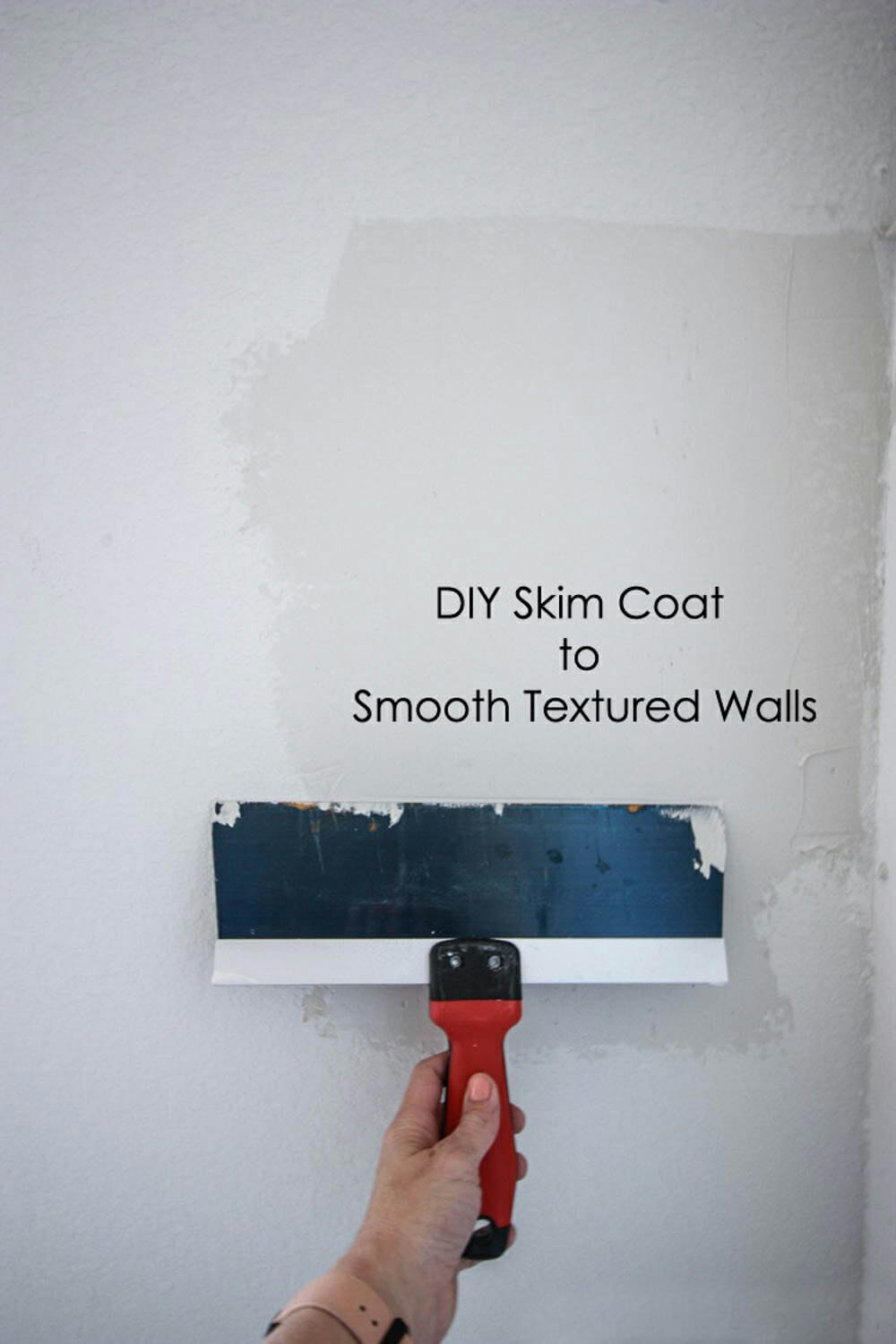 Skim Coat On Textured Walls Miranda Anderson For Modernize 8
