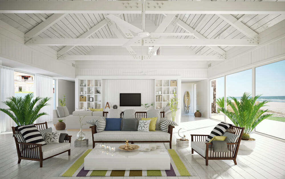 Summer Beach Home Interior