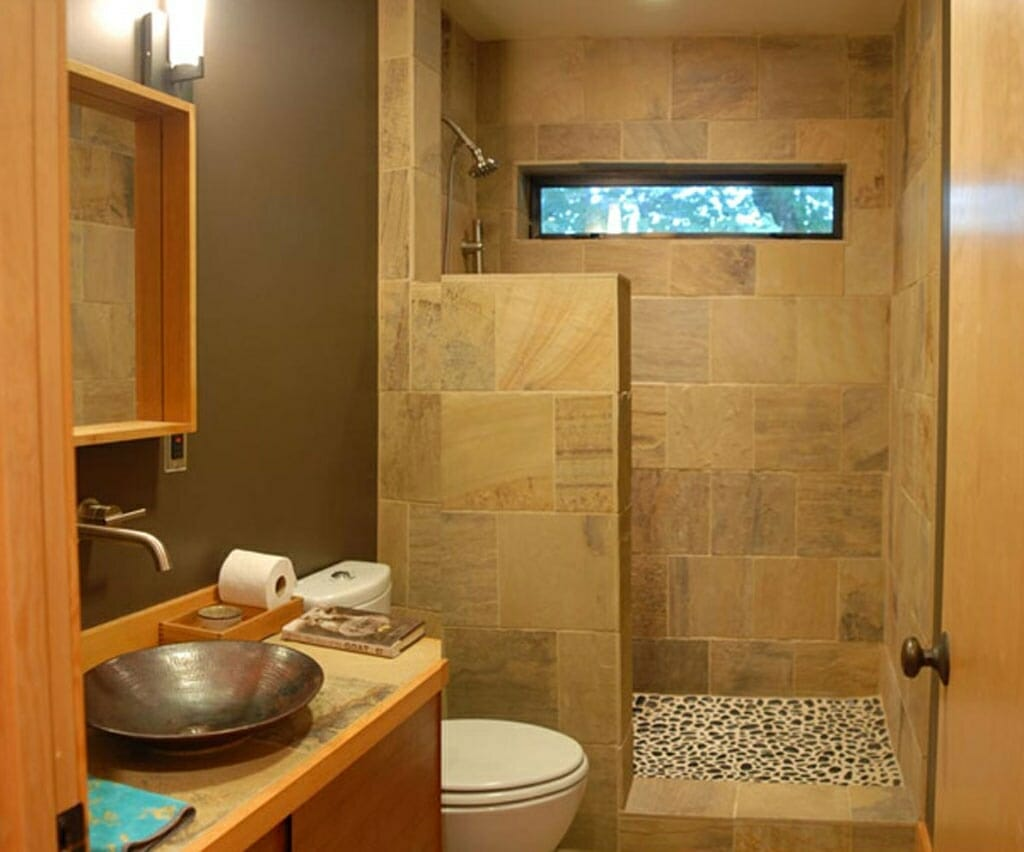 Terrific Small Bathroom Windows Pictures Decoration Ideas ...