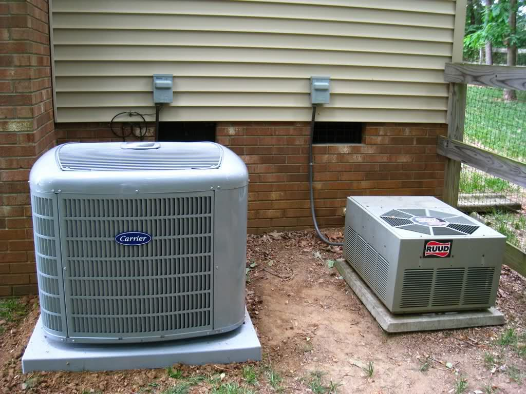 heat pump vs ac