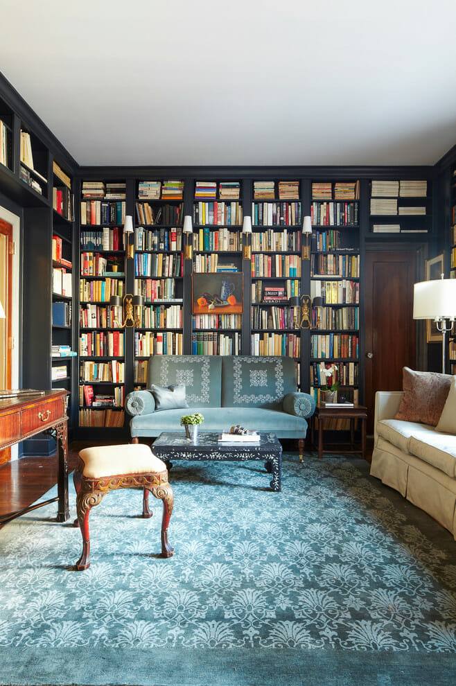 Most Amazing Home Libraries Modernize